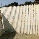 Wooden Fence Kaswait Design Centurion
