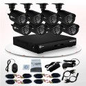 8 Channel and 4 Channel DVR CCTV Kits