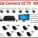16 channel, 16 camera CCTV security camera kit. 1200TVL HD cameras that are very high quality for this price!