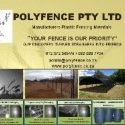 PLASTIC FENCING PRODUCTS