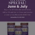 Winter Promo June & July - Lose weight and feel good?