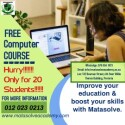 Free basic computer course at Matasolve Academy