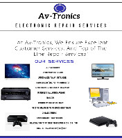 Av-Tronics Tv ,Audio & Laptop repairs