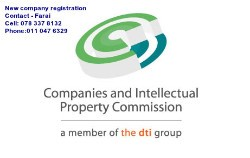 NEW COMPANY AND SARS TAX REGISTRATIONS