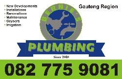 Qualified Plumber working in the Gauteng region