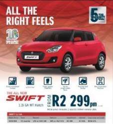 New Suzuki cars available Onsite Vehicle Finance arranged Colbyn