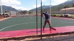 tennis courts construction Pretoria