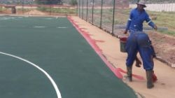 tennis courts construction Pretoria