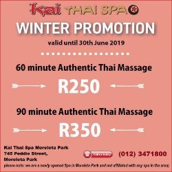 Kai Thai Spa in Moreleta Park