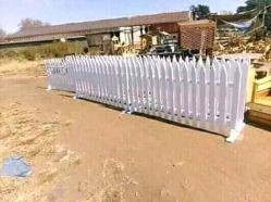 Wooden Fence Kaswait Design Centurion