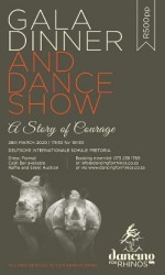 Dancing For Rhinos Gala Dinner and Dance Show