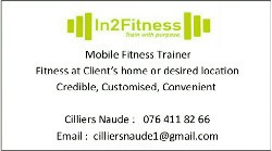 Mobile Personal Trainer