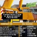 Machinery Training For mining and construction