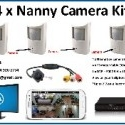 8 CCTV camera DVR system - View on your cellphone!
